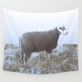 Solitude on straw Wall Tapestry
