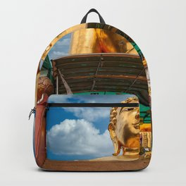 Buddha Golden Triangle Thailand Backpack
