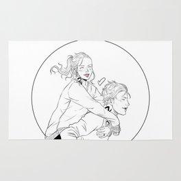 Clary & Jace Rug