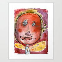 I feel excited Art Print
