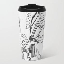 Russian Constructivism Scan Travel Mug