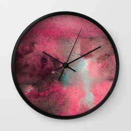 broken galaxy Wall Clock