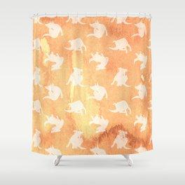 Rez Dogs Shower Curtain