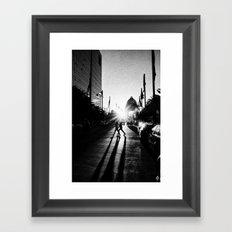 Sync Framed Art Print