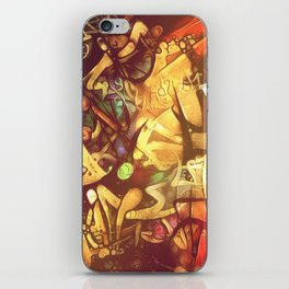 Tall tales told in dockside bars iPhone Skin