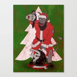 Merry Krampus aka Dismembered in December Canvas Print