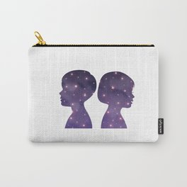 Universe in a Boy and a girl_B Carry-All Pouch
