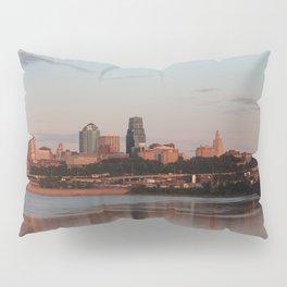 Downtown Kansas City at Sunset Pillow Sham
