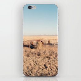 West Texas Stampede iPhone Skin