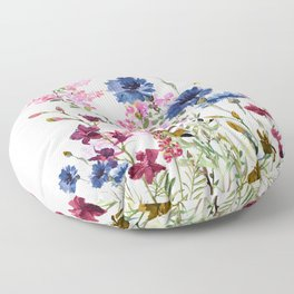 Wildflowers IV Floor Pillow