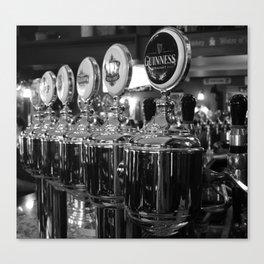 Draft beer Canvas Print