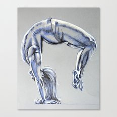 Bend Over Backwards Canvas Print