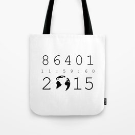 86401 Leap Second 2015 Tote Bag