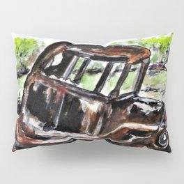 Wrecked And Rusting Pillow Sham