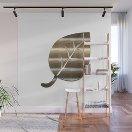 Decorative Gold Leaf Wall Mural