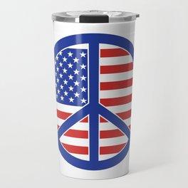 Peace in America Travel Mug
