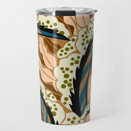 BALINESIA: BIG SKY RANCH, Art Deco Tropical Travel Mug