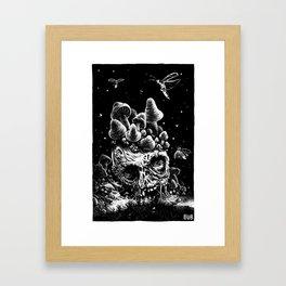 Mushy Lake Framed Art Print
