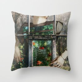 Keep safe what you have inside Throw Pillow