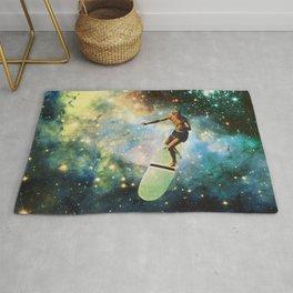 Cosmic Surfer Rug