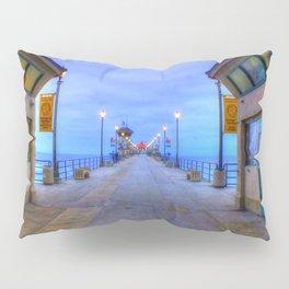 Before Dawn  * Huntington Beach Pier Pillow Sham