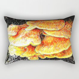 Fried Chicken of the Woods Rectangular Pillow
