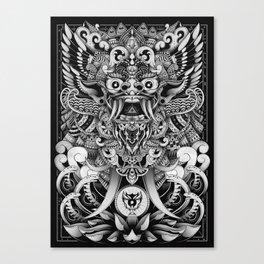 Barong Bali Canvas Print