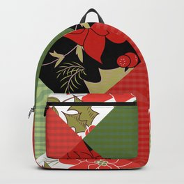Patchwork, Christmas 1 Backpack