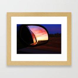 colorado sunrise Framed Art Print