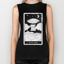 'The UFO' Tarot Card Biker Tank