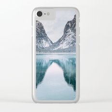 Toblacher See Clear iPhone Case