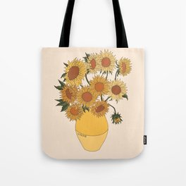 Van Gogh Sunflowers Tote Bag