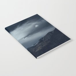 We wanted to sleep in the mountains Notebook