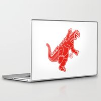 godzilla Laptop & iPad Skins featuring Godzilla by Design Made in Japan