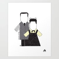 eames Art Prints featuring Eames by Analy Diego