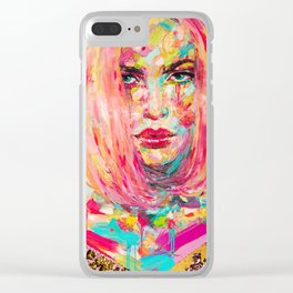 Christy Clear iPhone Case
