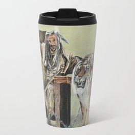 King Ezekiel and Shiva Travel Mug