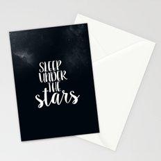 Sleep Under The Stars Stationery Cards
