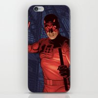 daredevil iPhone & iPod Skins featuring Daredevil by Arne AKA Ratscape