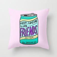 HFTWF Seltzer Throw Pillow