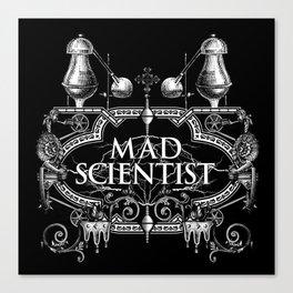 Mad Scientist Canvas Print