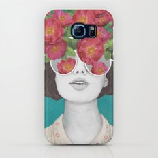 The optimist // rose tinted glasses Galaxy S6 Slim Case