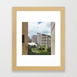 Jalan Potong Pasir Framed Art Print