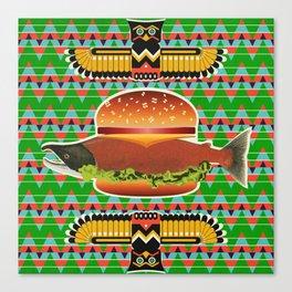 Alaska Burger Canvas Print