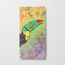 Toucan Can Do It! Metal Print