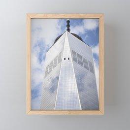Top of the Tower Framed Mini Art Print