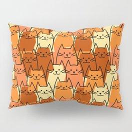 Post Modern Cats Pillow Sham