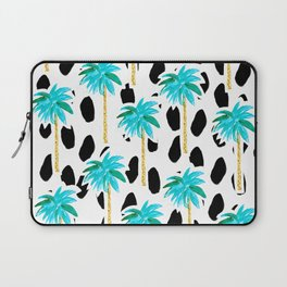 Palm Trees and Dots Laptop Sleeve