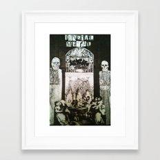 FuneralMetal Framed Art Print