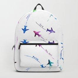 Around the world Backpack